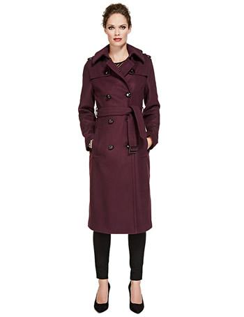 Purple ladies raincoat